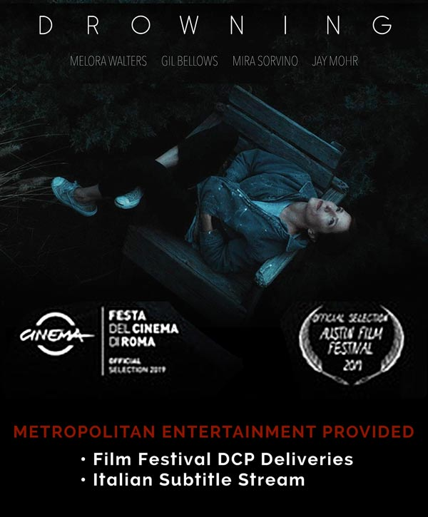 Drowning Movie deliveries by Metropolitan Entertainment